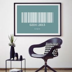 Barcode Personalised Print